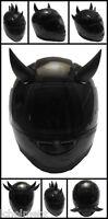 Rubber Motorcycle Helmet Horns - Black Motorcycle Helmet Horns Set Of 2