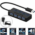 Hub 4-Port USB 3.0 with Power Switches, Power Adapter and LEDs (HB-UMP3) Sabrent