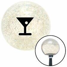 American Shifter 23517 Blue Metal Flake Shift Knob Red Martini Glass w//Olive