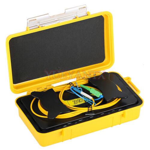 2KM SC APC-LC UPC OTDR Launch Cable Box SM G652D OTDR Launch Cable Testing Box