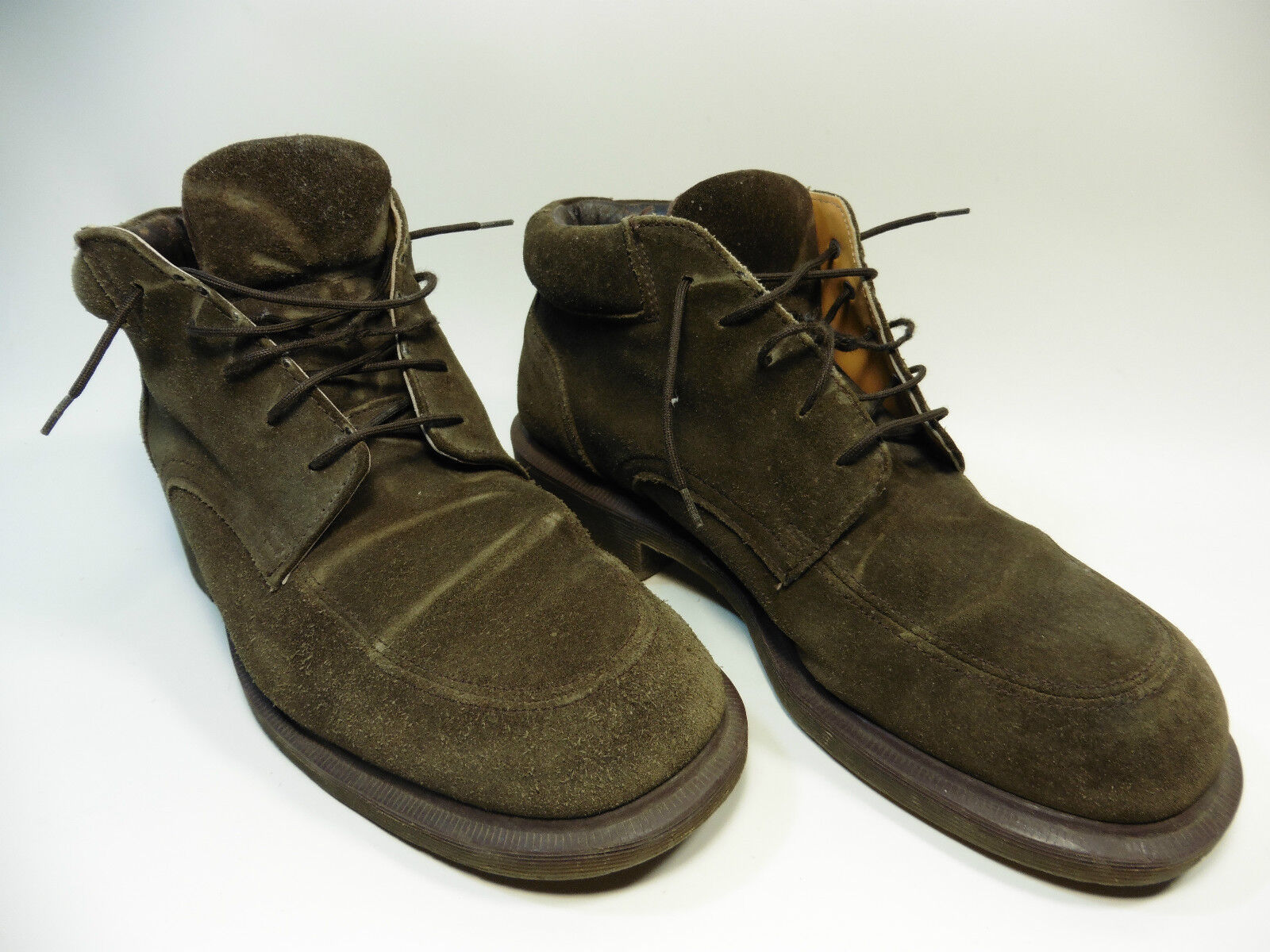 DR MARTENS CHUKKA ANKLE BOOTS brown N °8497 SIZE 8 MADE IN ENGLAND