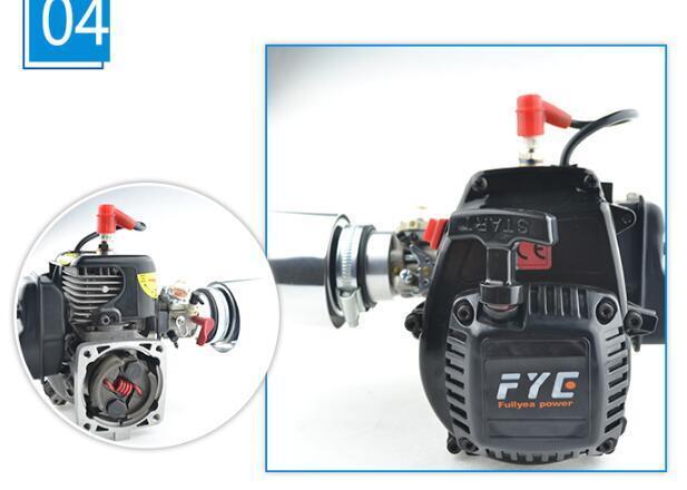 30.5cc motor + airfilter + vergaser 4 - 1   5 rc - car baja 5b losi 5t dbxl