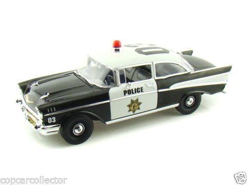 1 18 Highway 61 1957 Chevy Bel Air Police Car