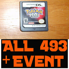 Pokemon Pearl - All 493 Pokemon + LEGIT EVENTS TRU ARCEUS MEW UNLOCKED