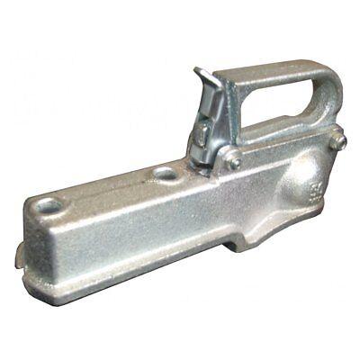 UnBraked 50mm Cast Iron Trailer Tow Bar Hitch Coupling Heavy Duty 750kg Maximum