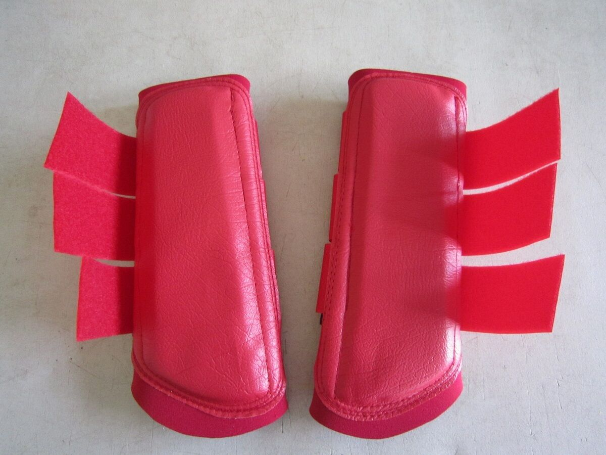 Horse Arena or Work & Exercise Boots More Predection RED & all AUSTRALIAN MADE