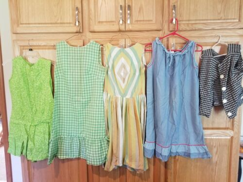 Vintage Clothing Lot Womens 1940s 50s Estate Dress