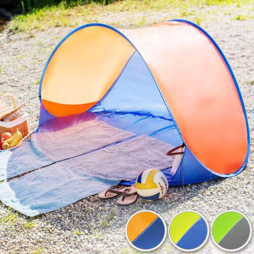 Tente abri de plage auvent pop up automatique camping protection UV
