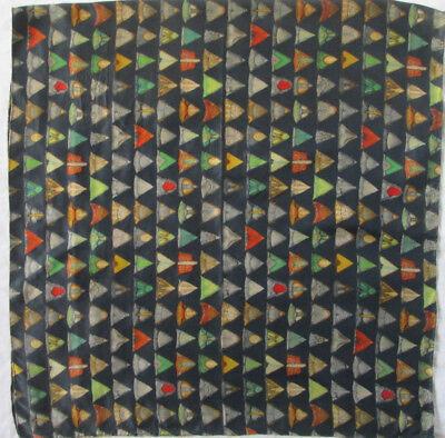 -superbe Etole Fabric Tbeg Vintage Scarf 70 X 140 Cm Per Soddisfare La Convenienza Delle Persone