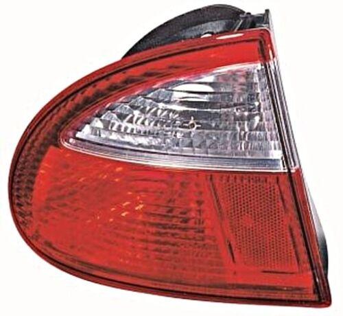 Seat Leon 1999-2004 Tail Light Outside Red White Corner Lamp LEFT LH