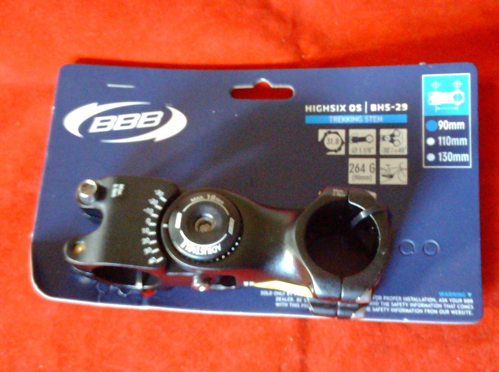 BBB HIGHSIX ADJUSTABLE   1 1 8  AHEAD STEM 90mm, 31.8mm BARS  more discount