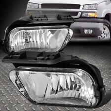 For 04 07 Chevy Silverado 1500 2500 3500 Hd Clear Lens Bumper Fog Light Lamps Fits 2005 Chevrolet Silverado 2500 Hd Ls