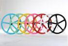 700c 5-Spoke Fixie Fixed Gear Single Speed Bike Mag Front Back Rear Wheel Rim