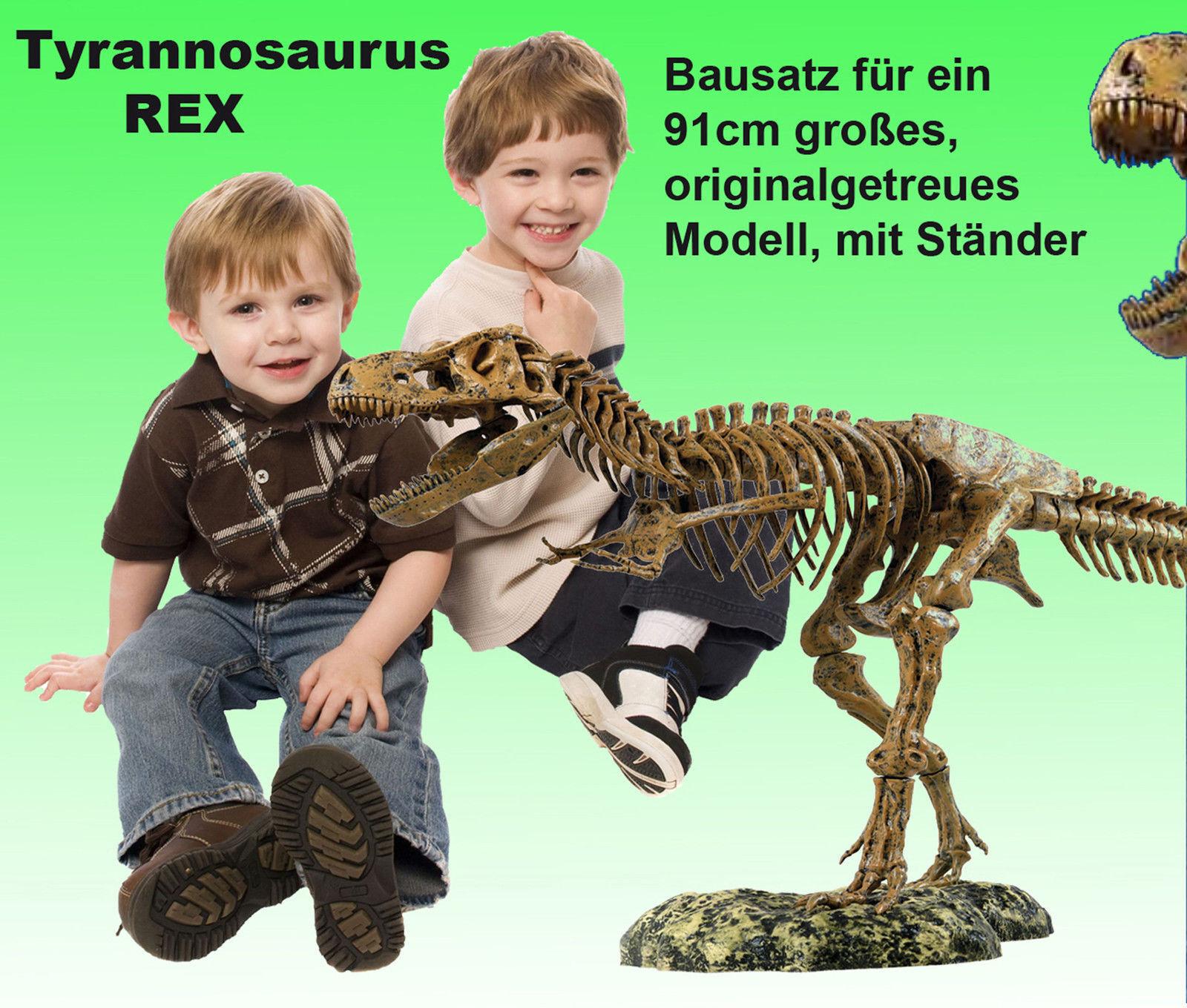RiesigesTyrannosaurus Rex Skelett - 91cm groß - T-Rex  Modell XL Dinosaurier