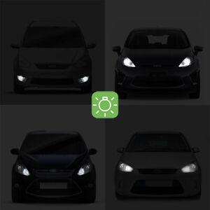 2-ampoules-a-LED-blanc-veilleuses-feux-de-position-pour-Ford-Mondeo-1-2-3-4
