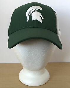 purchase cheap 9dca4 1d0ae Image is loading NIKE-MICHIGAN-STATE-SPARTANS-Green-White-NCAA-Legacy9I-