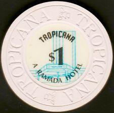 $1 Casino Chip, Tropicana, Las Vegas, NV. 1985. AV8.