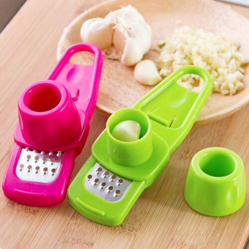 1PC High Quality Grinding Garlic Presses Grinding Kitchen Gadgets Cooking Tools