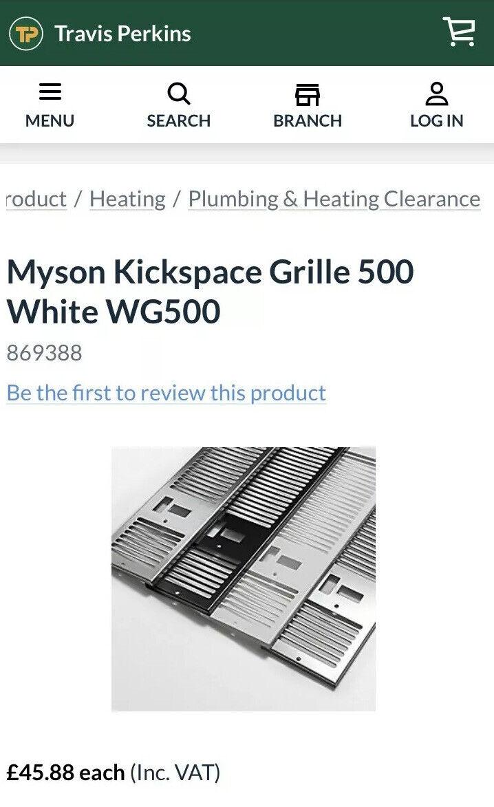 Myson Kickspace 500 Duo Fan Convector