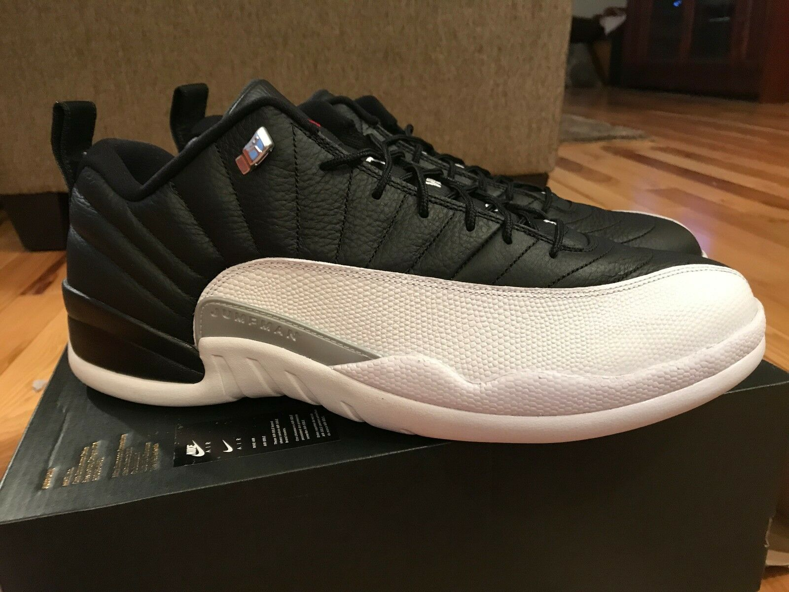 100% authentic 6b8f1 bb5ea netherlands nike air jordan comodo retro 12 playoff xii bajo 308317 004  comodo jordan gran descuento