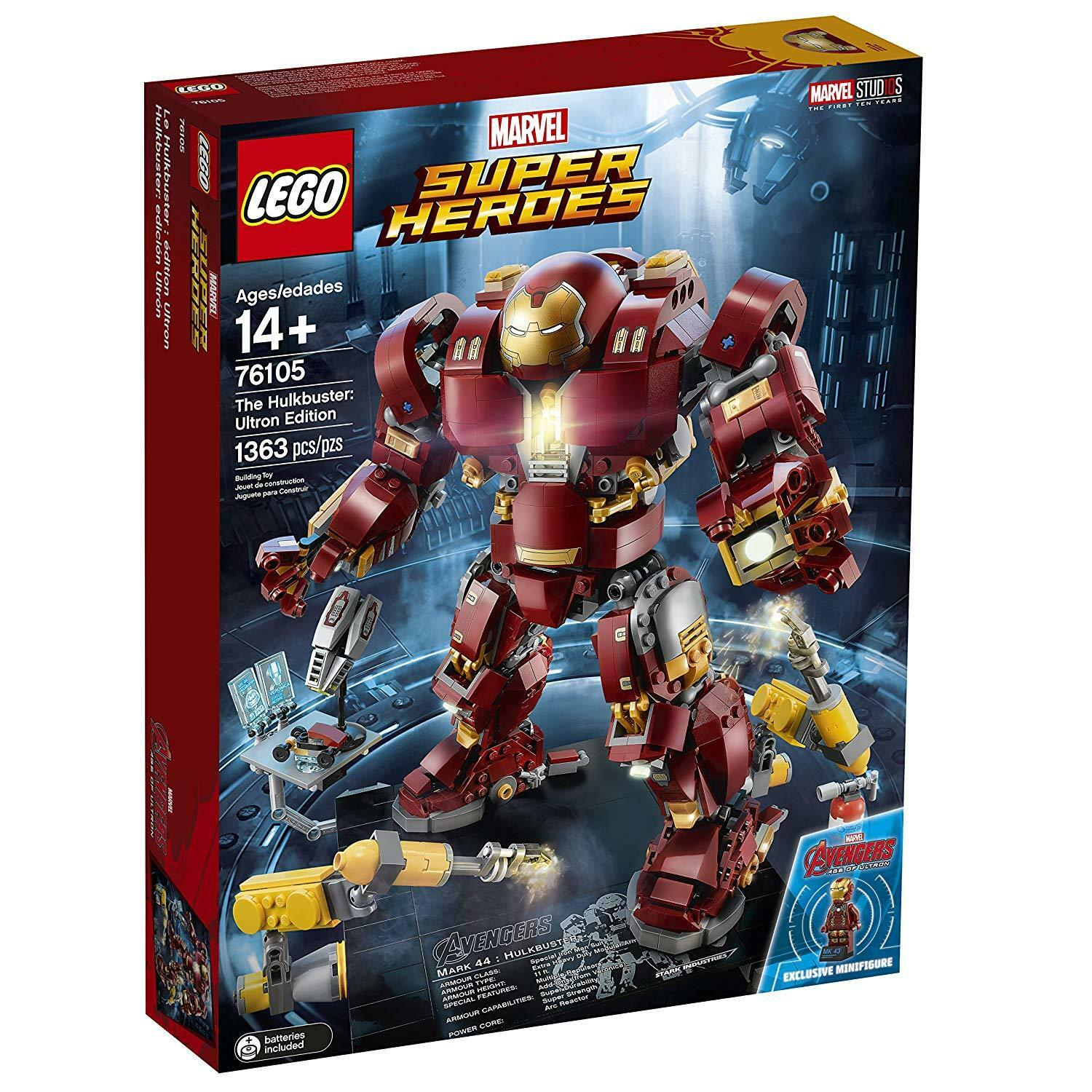 LEGO Super Heroes The Hulkbuster: Ultron Edition 76105 Building Kit