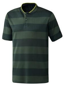 adidas Primeknit Polo Shirt - Green Oxide/Deepest Green -  Mens