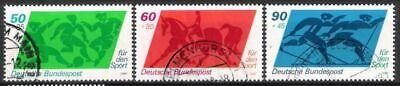 Begeistert Bund Nr.1046/48 Sporthilfe 1980, Gestempelt Lassen Sie Unsere Waren In Die Welt Gehen