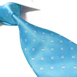 "Extra Long Microfibre Necktie Green Geometric Woven Polyester XL Men/'s Tie 63/"""