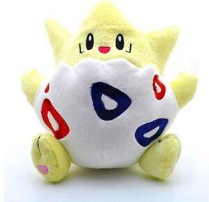 Pokemon-Center-Togepi-Plush-Doll-Soft-Stuffed-Figure-Toy-8-034-Collectible-US-ship