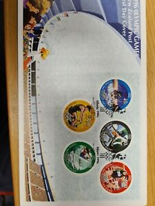 New-zealand-stamps-1996-Olympic-Mini-sheet-UM