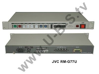 Generous Jvc Rm-g77u Remote Video Production & Editing