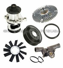 WATER PUMP + PULLEY + FAN CLUTCH + BLADE + THERMOSTAT COOLING KIT for BMW E36 Z3
