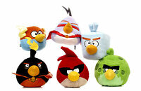 "NEW OFFICIAL 6"" PLUSH SPACE ANGRY BIRDS SOFT TOYS FROM ANGRY BIRDS COLLECTION"