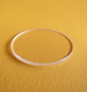 Vetro-dell-039-orologio-piatto-Minerale-1-0mm-di-spessore-Diametro-16mm-45mm-G9618U