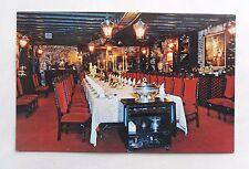 c1955 Colour Postcard. Interior THE BLUE FOX Restaurant, San Francisco. Merchant