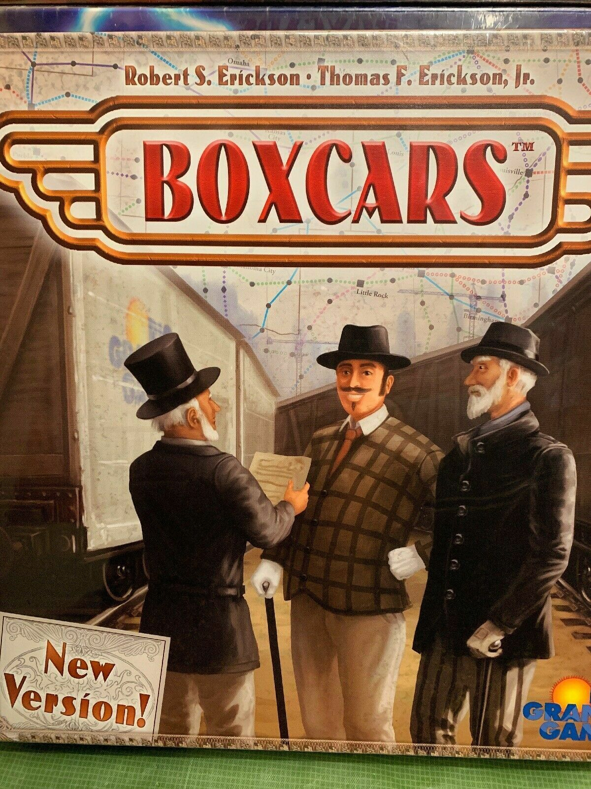 Boxcars Board Game - NEW SEALED
