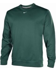 Ls Nike Maglione Verde Poliestere Fit Therma Personale Asso Uomo 100 gqO5qwTB