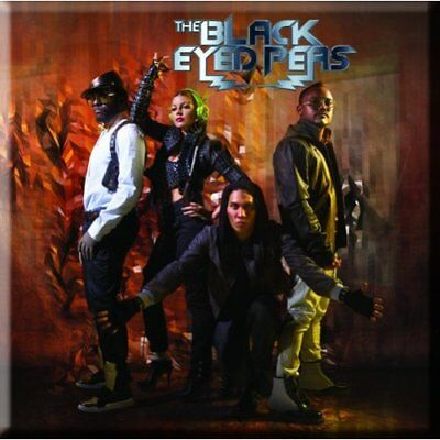 Black Eyed Peas Fridge Magnet Calamita Photo Official Merchandise Ricco Di Splendore Poetico E Pittorico