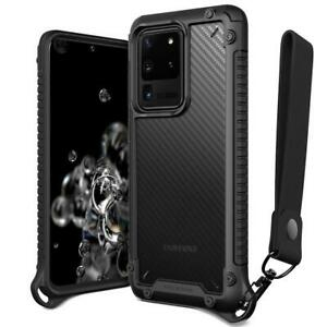 For-Galaxy-S20-Ultra-Plus-Case-VRS-Crystal-Mixx-Pro-Carbon-Pattern-Clear-Cover
