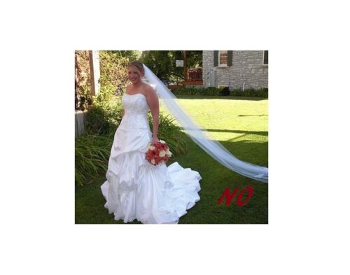 3 M Wide Wedding Veil *Cathedral Length*Made to Order*Off white// Ivory*Cut Edge*