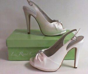 Image Is Loading Liz Rene Wedding Shoes Danielle White 776m Us