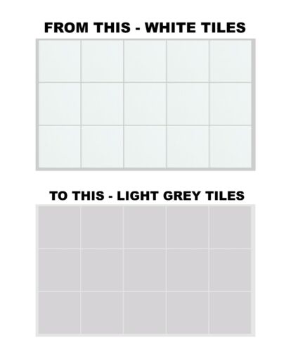 """150mm x 150mm For Kitchen Bathroom 6 Inch x 6 Inch Tile Stickers Transfers 6/"""""""