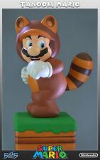 Tanooki Mario - Super Mario Figur  - First 4 Figures / Nintendo - Tanuki Statue