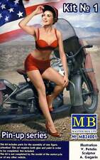 Masterbox - Pin-up Girls Frauen 1 Figure Marylin 1:24 (32/35) Modell-Bausatz USA