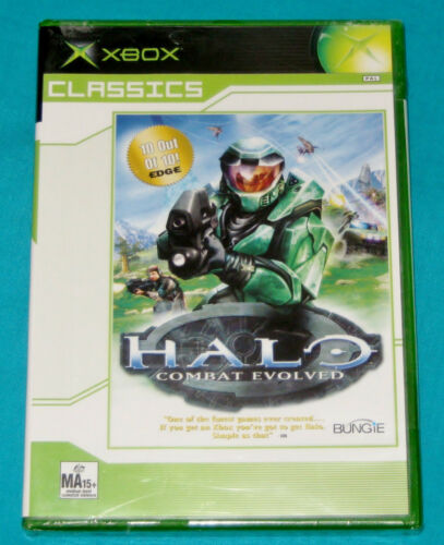 1 of 1 - HALO for Original Xbox & 360  ~ BRAND & NEW SEALED !!!!!!~ Halo: Combat Evolved