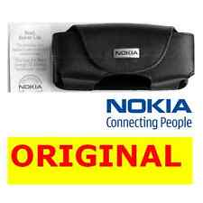 New Genuine Nokia LEATHER CASE 6310i 6310 original mobile pouch cell phone cover