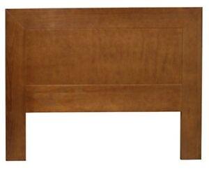 Testiera letto singolo legno massello pino mordenzata ciliegio ...