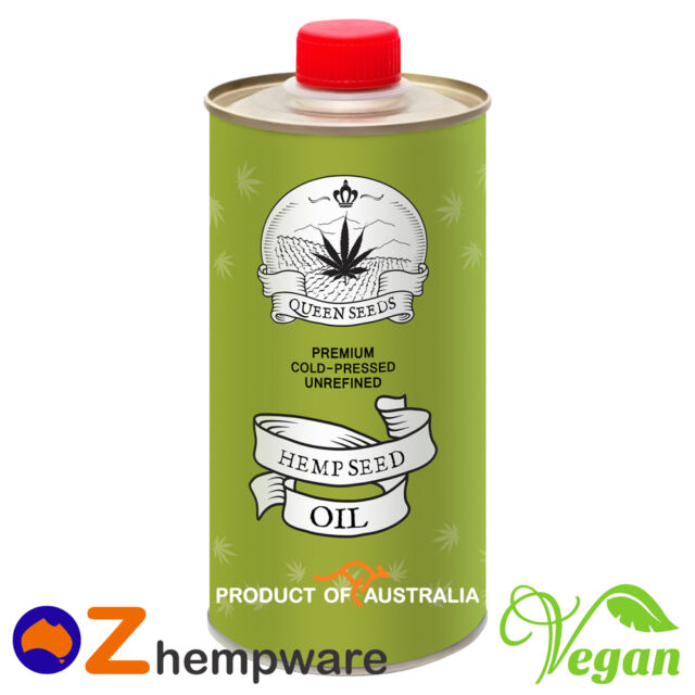 HEMP SEED OIL COLD-PRESSED UNREFINED PREMIUM PRODUCT OF AUSTRALIA 0.25/0.5/1L/2L