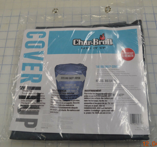 Char-Broil The Big Easy Turkey Fryer Cover - Gray Grey