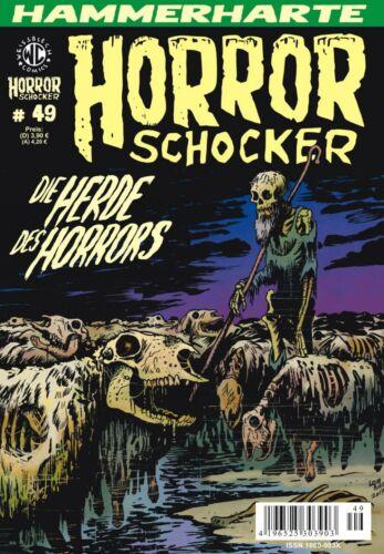 Weissblech Horrorschocker 49 NEUWARE Comic Die Herde des Horrors